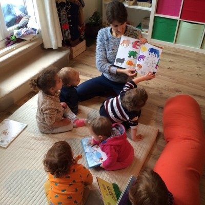 Afternoon story time